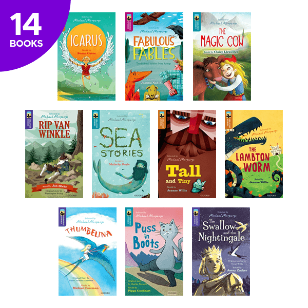Oxford Reading Tree Greatest Stories Collection - 14 Books