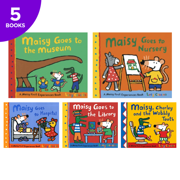 Maisy's First Experiences Collection - 5 Books