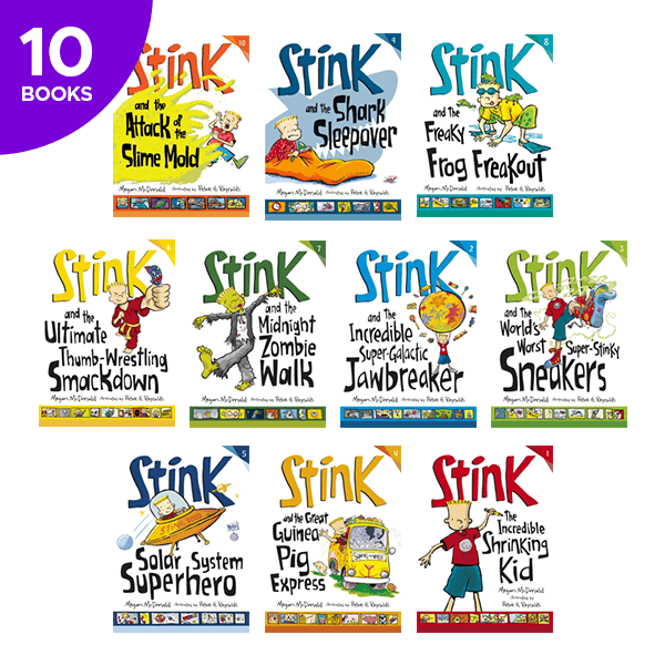 Stink Collection - 10 Books