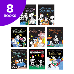 Funnybones Collection - 8 Books