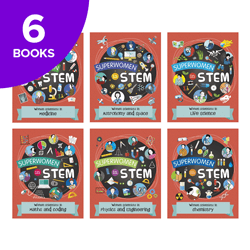 Superwomen In STEM Collection - 6 Books