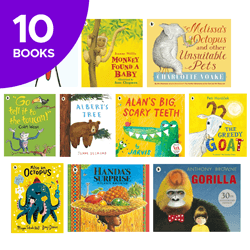 Wild About Animals Collection - 10 Books
