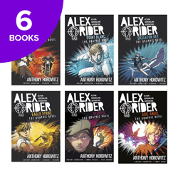 Alex Rider Graphic Novels Collection - 6 Books