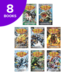 Sea Quest Series 3 & 4 Collection - 8 Books