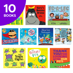 Giggles Galore Collection - 10 Books