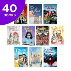 Usborne Confident Readers Collection Collection - 40 Books