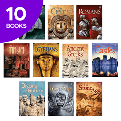 Usborne Beginners History Collection - 10 Books