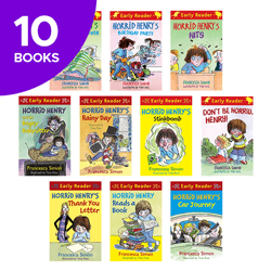 Horrid Henry Early Reader Collection  - 10 Books
