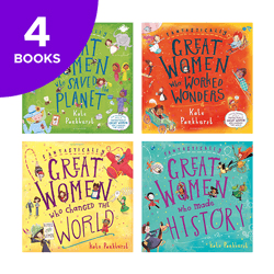 Fantastically Great Women Collection - 4 Books