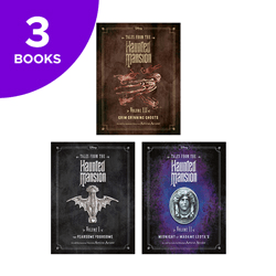 Disney Tales From The Haunted Mansion Collection - 3 Books