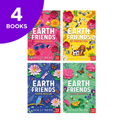 Earth Friends Collection - 4 Books