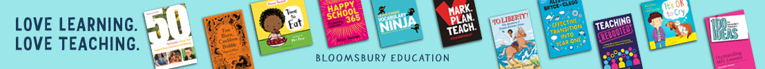 Bloomsbury Education Slim Banner