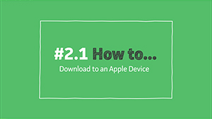 VLeBooks - How To Download an eBook to an Apple Device