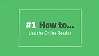 VLeBooks How To 1 - Online Reader Overview