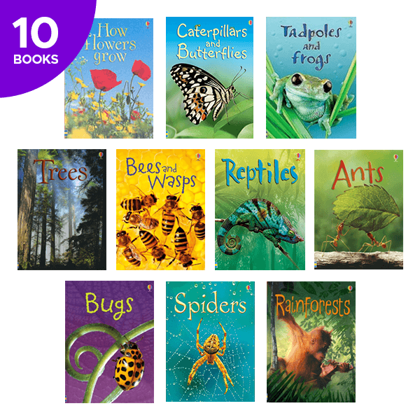 Usborne Beginners Nature Collection - 10 Books